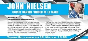 John Nielsen Første Danske vinder af Le Mans