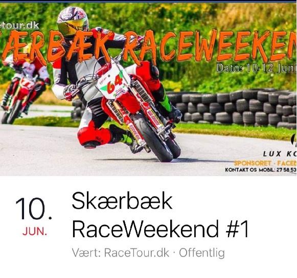 2016 Racetour trænings weekend
