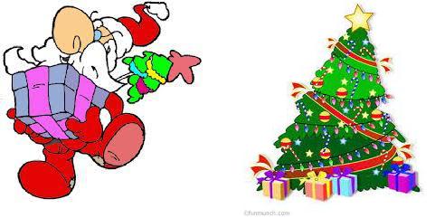 skriver jule hilsen